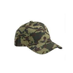 Big Accessories Structured Camo Hat