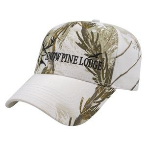 Camouflage Series Structured Six Panel Camo Cap