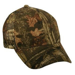 Mesh Back Camo Assorted Cap with Hook/ Loop Tape Closure