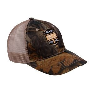 The Crossbow Camo Mesh Trucker Hats (Embroidery)