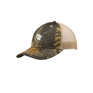 Cotton Camouflage Caps with Mesh Back